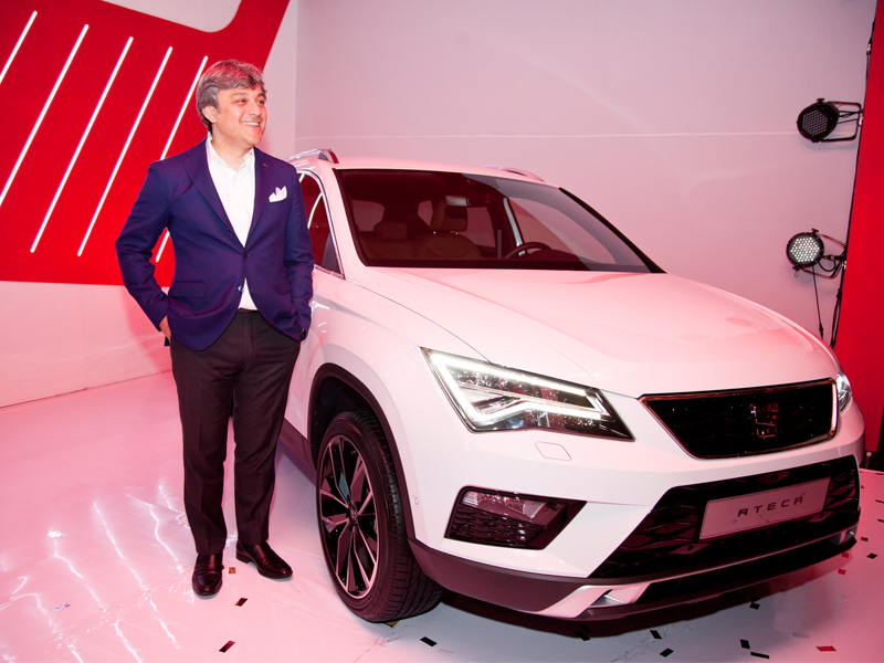 Luca de Meo, SEAT Executive Committee President, celebrates the 15th Anniversary of SEAT in Mexico