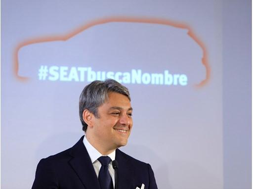 Luca de Meo at the presentation of #SEATseekingName initiative last 1st June