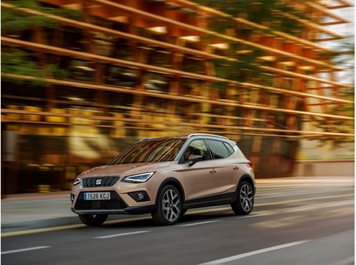 The new SEAT Arona crossover is now in dealer showrooms
