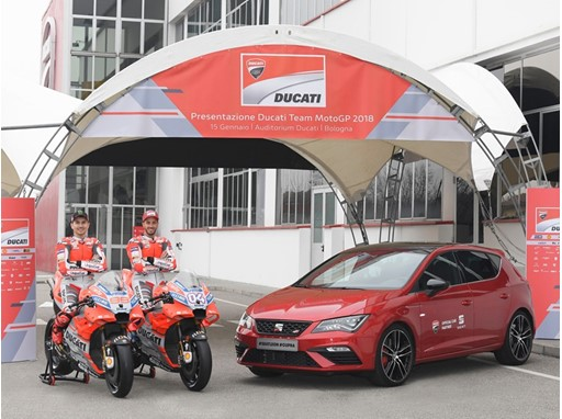 SEAT and Ducati, Power in Full at the MotoGP World Championship