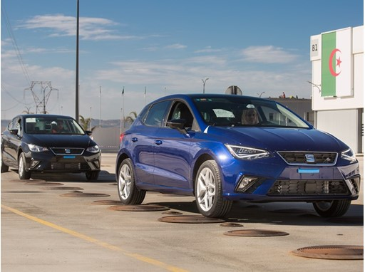 SEAT sold 7,000 vehicles in Algeria until March, after sales began of the fifth generation Ibiza leaving the Relizane pl