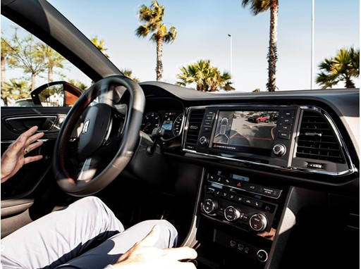 Some driver assist systems, like Park Assist, can take control of the steering wheel and park the car for us