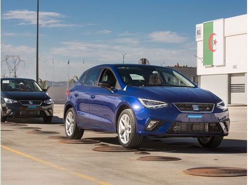 Image of the Relizane plant, where SEAT assembles the Ibiza