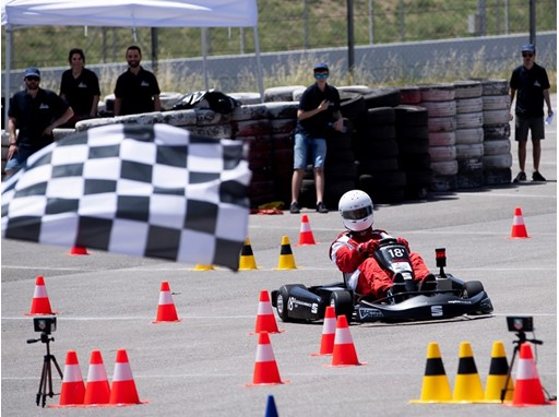 The team participated in the Kart Academy at the Barcelona-Catalunya circuit in Montmeló, finishing in well-deserved 2nd