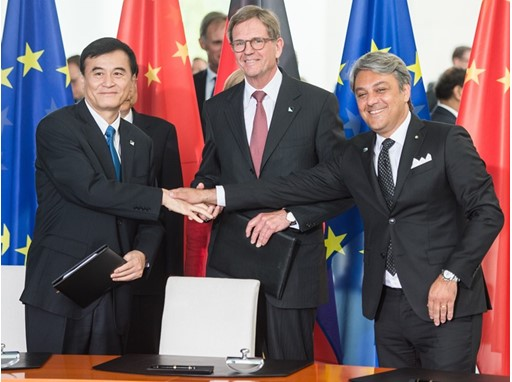 SEAT signs an agreement to team up with the joint venture between Volkswagen group china and JAC