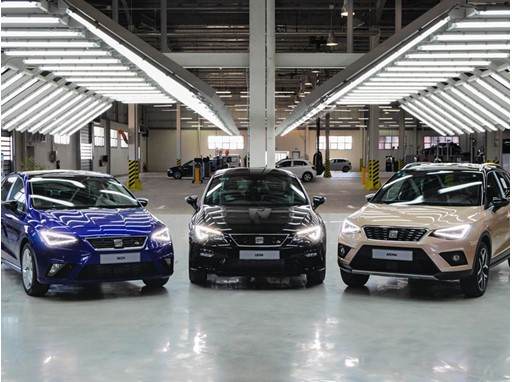 SEAT BEGINS ASSEMBLING THE ARONA AND THE LEON IN ALGERIA TO BOOST ITS GLOBALISATION STRATEGY
