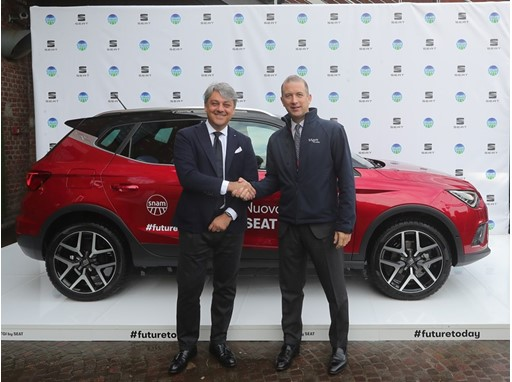 SEAT President Luca de Meo and Snam CEO Marco Alverà will collaborate in the development of mobility services