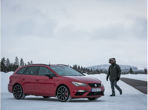 Gonzalo Giménez, head of Brakes and Active Safety Systems at SEAT, works 10 weeks a year in Lapland testing prototypes