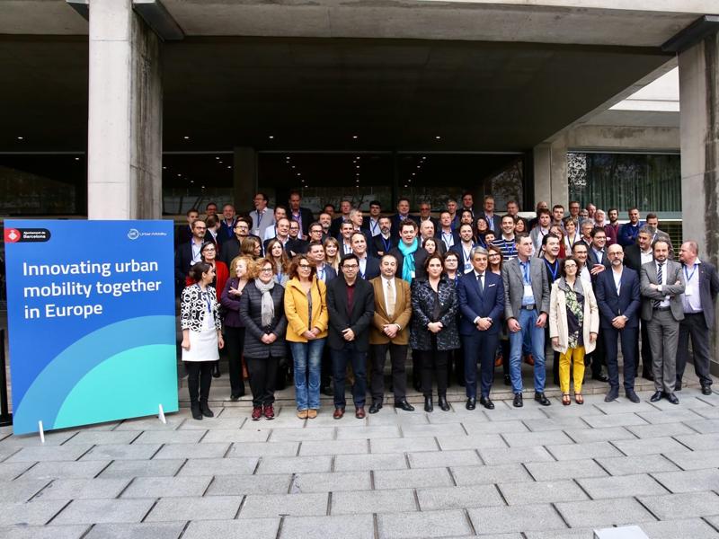 EIT – MOBILus members in Barcelona