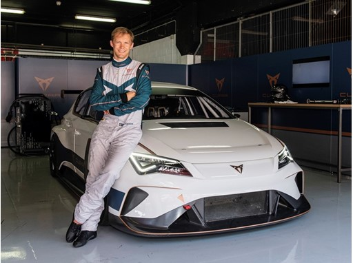 Mattias Ekström joins CUPRA to lead the brand's electric racing strategy