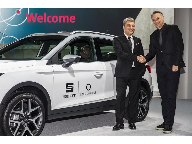 thenewsmarket com : Luca de Meo, President of SEAT, and Ned Curic