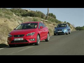 SEAT Leon SC - Driving Footage