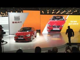 SEAT - Press Conference at Geneva Motor Show
