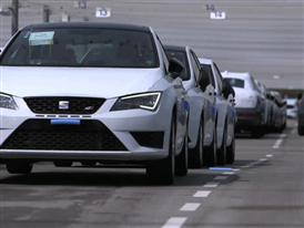 Footage: SEAT Ibiza production