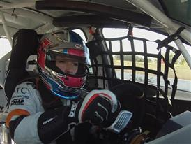 Footage On the track I am neither a man nor a woman. I am a race car driver