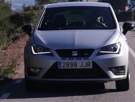 The New SEAT Ibiza CUPRA 2015 Gray