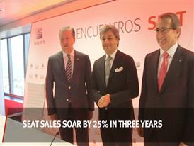 SEAT Sales Soar by 25% in Three Years