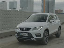 Footage new SEAT Ateca White