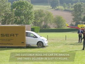 Online reservations of the SEAT Mii by Mango on Amazon fr with delivery in 72 hours a complete success