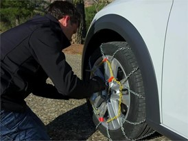 The EasyWayTo Install Snow Chains