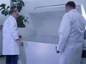 Every climatic condition in a single chamber: Footage