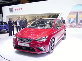 Footage: The new Ibiza makes its public debut in Geneva after another month of successful sales at SEAT