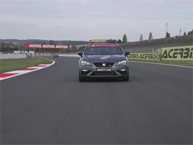 At the Wheel of a Safety Car -  Footage