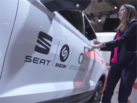 Footage: SEAT becomes the world's first brand to integrate Shazam in its cars