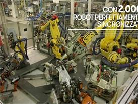 A choreography with 2,000 robots(ITALIAN)