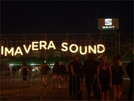 Barcelona is vibrant with SEAT and Primavera Sound - Footage