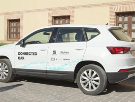 Telefónica and SEAT present the first use case of assisted driving via the mobile network in a real setting in Segovia