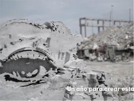 15,000 kg de cemento para convertir el Arona en una escultura - WEB