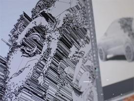 15,000 kg de cemento para convertir el Arona en una escultura - HD