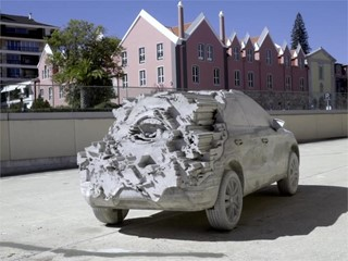 15,000 kg of cement to turn the Arona into a sculpture - NO ENDING-HD