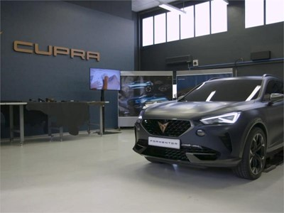 Footage: Designing the first CUPRA, in three stages