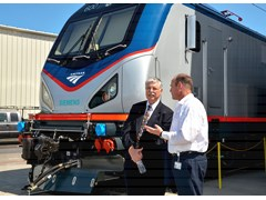 Amtrak Unveils Advanced Technology Locomotives For Northeast Service
