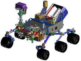 MSL Rover Siemens NX CAD model