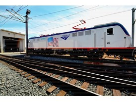 May 2013 Amtrak Cities Sprinter Unveil at Siemens Sacramento Rail Manufacturing Facility Amtrak Cities Sprinter (ACS-64)