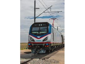 July 2013 Amtrak Cities Sprinter Testing at US DOT's Transportation Technology Center in Pueblo, CO