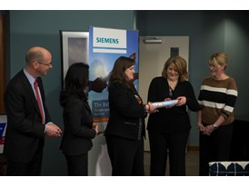 Siemens, American Cancer Society's Hope Lodge and SU2C kick off The Baton Pass™ 3/19/14
