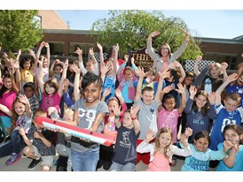 Rockland County, New York Schools Baton Pass 5/19/14
