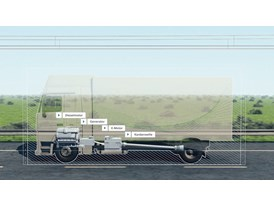 HGVs with hybrid drive technology for use on electrified routes