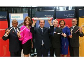 Leaders at the Siemens Baton Pass event in Neptune, NJ 8/21/14