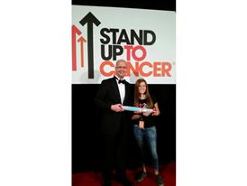 Siemens Healthcare CEO Dr. Gregory Sorensen and SU2C's Pearce Quesenberry 9/5/14