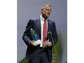 New York City Mayor Bill de Blasio 9/22/14