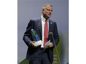 New York City Mayor Bill de Blasio 9/22/14