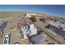 Cheyenne, WY Data Center Construction Aerial