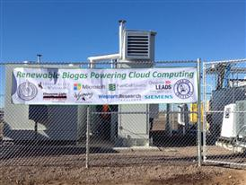 Cheyenne, WY Data Center Ceremony Banner 11/6/14