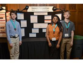 Caltech, Shakthi Shrima, Jacob Gurev, and Adam Forsyth, Team Winners