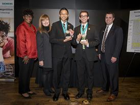 UT Austin, Eli Echt-Wilson and Albert Zuo, Team Winners